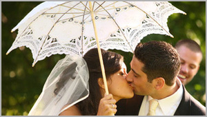 Lace Wedding Parasol