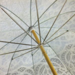 Lace Umbrella Underside