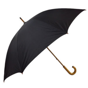 Shelta Metropolitan Black Umbrella