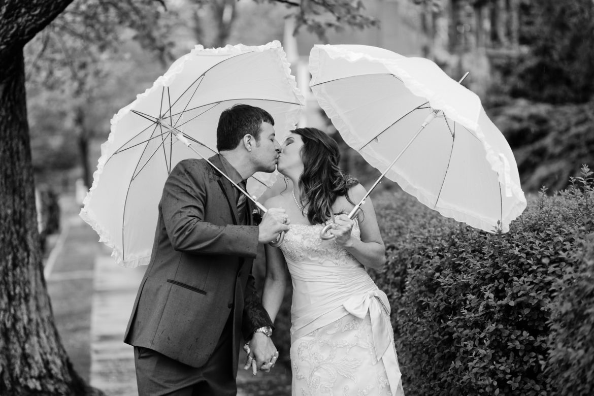 White Wedding Umbrellas Parasols For Brides And Grooms
