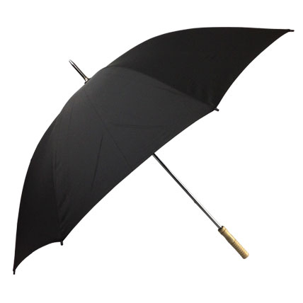 Willow Tree Straight Classic Golf Black Umbrella