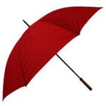 Straight Classic Red Umbrella
