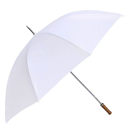 Willow Tree Straight Classic Golf White Umbrella