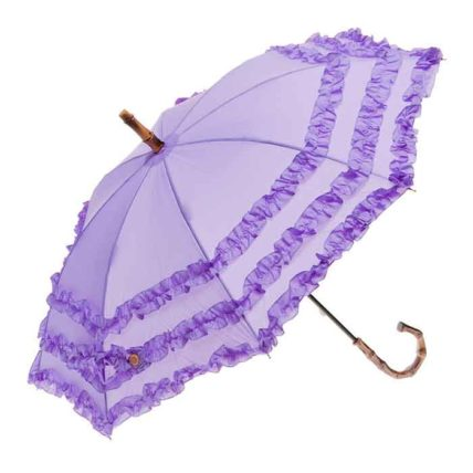 Clifton Childrens FIFI Bambina Frill Lilac Purple Umbrella