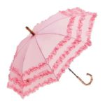 Clifton Childrens FIFI Bambina Frill Pink Umbrella
