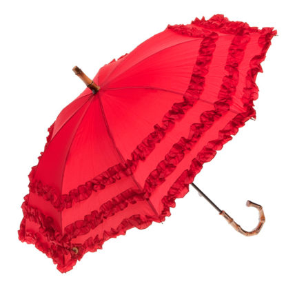 Clifton Childrens FIFI Bambina Frill Red Umbrella