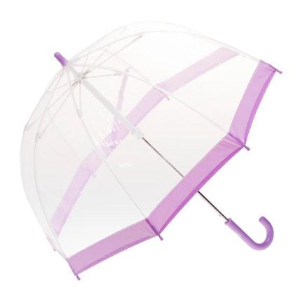 Clifton Childrens Birdcage Lilac Purple Border Umbrella