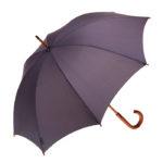 Clifton Classic Timber Charcoal Umbrella