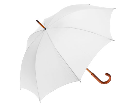 Clifton Classic Timber White Umbrella