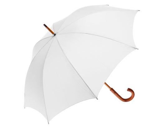 Clifton Classic Timber White Umbrella