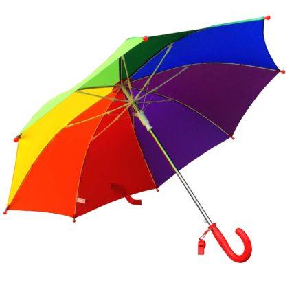 Willow Tree Childrens Auto Open Rainbow Umbrella