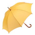 Clifton Classic Timber Yellow Umbrella
