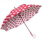 Clifton Double Cover Red Polka Side